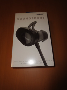 Bose Soundsport Wireless Headphones - brand new