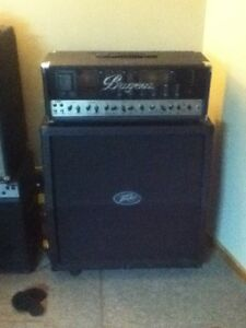 Bugera 6262 with peavey Windsor cab
