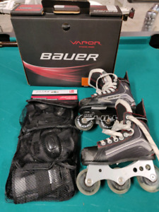 Youth Rollerblades, size 11, Bauer Vapour X300R