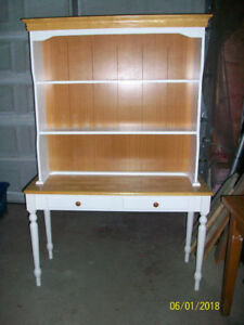 Hutch and side table