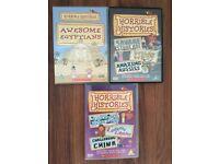 3 x Horrible Histories DVDs