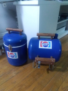 Pepsi Cooler and BBQ