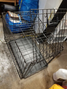 WIRE DOG CRATE 30L X 18W X 23H  INCHES (no bottom tray)