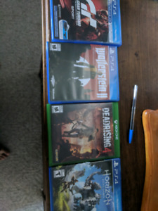 Ps4 and x box one games