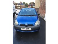 Toyota Yaris breaking for parts