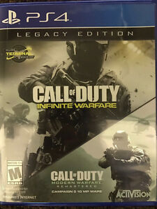 Call of Duty: Infinite Warfare -- Legacy Edition PS4