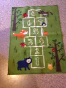 Cute hopscotch rug/mat