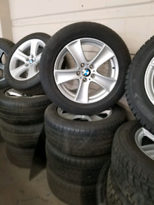 BMW x5 rims and tires 255 55 R18