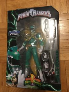 green ranger legacy power action figure rare 6 inch baf