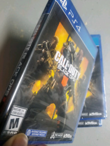 Call of Duty Black Ops PS4. Factory sealed