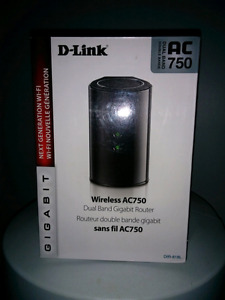D link dual band gigabit router