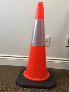 """30 """" Reflective Traffic Pylons for Sale"""