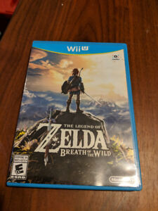 Zelda botw breath of the wild wii u