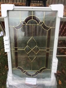 Glass door lite insert.