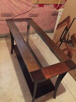Coffee table, sofa table and one end table