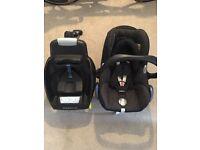 Maximo cosi cabrio fix car seat with ISO fix base