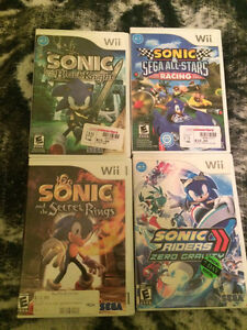 Sonic games for the Wii
