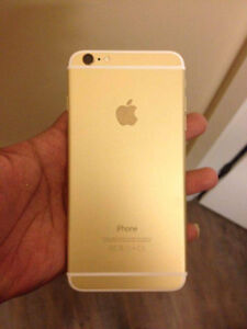 Iphone 6plus gold 16gb rogers