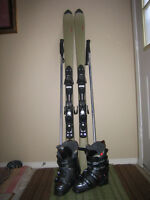 Free Ladies Skis and Boots