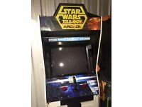 Star Wars Trilogy Arcade Machine - Rare Sega 1998
