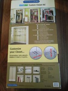 ExtendIt Custom Closet Kit (retrofit existing closet tool free!)