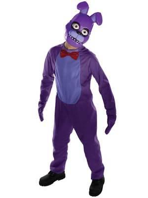 Kids Five Nights At Freddy's Bonnie New Fancy Dress Child Boys Halloween - Boys Halloween Fancy Dress