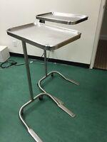 Mayo surgical trolleys (x8) & surgical stands (x5)