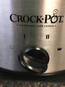 Brand new (still in box) 4 Qt Oval Classic Crock-pot
