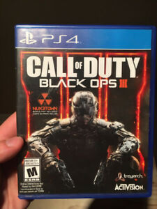 PS4 Games for Sale  ( Far Cry Primal & COD Black Ops3 )