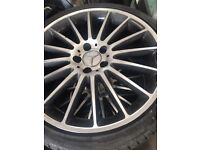 New Merc Alloy's with new tyres