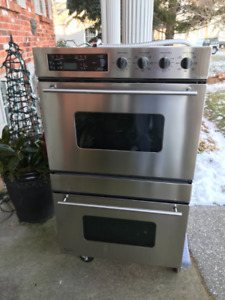 Wall oven-stainless steel