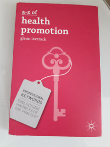 A-Z OF HEALTH PROMOTION BY GLENN LAVERACK