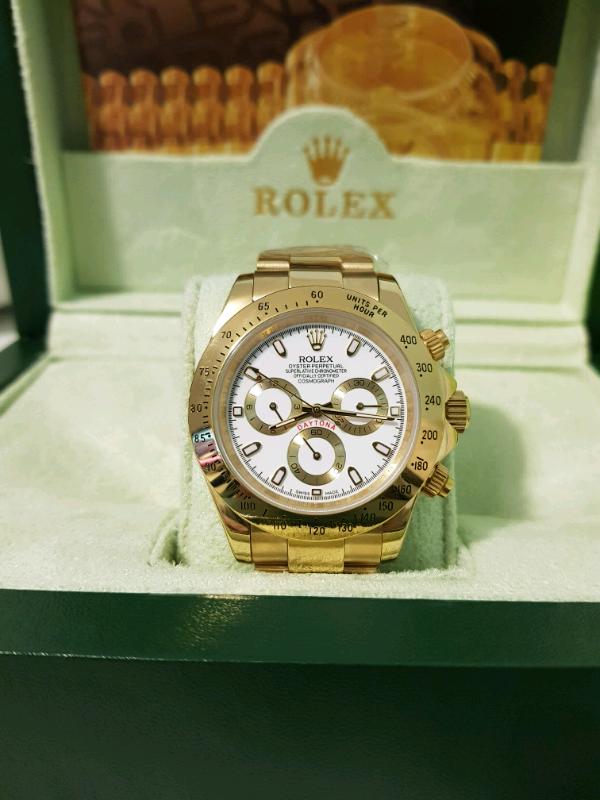 Rolex Daytona White Face Gold In Westminster London