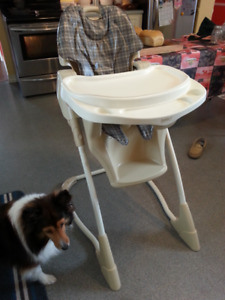 High Chair: Safety 1st Dine & Recline $20