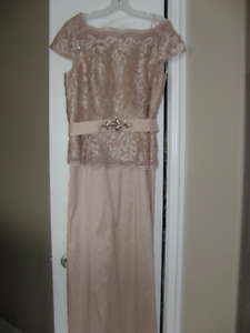 BLUSH  GOWN SIZE 12