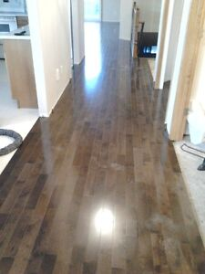 Hardwood  from  $1.50sqf** and laminate $1.20sqf*** installation Edmonton Edmonton Area image 6