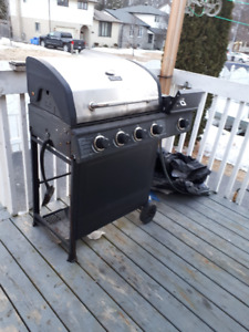 Natural GAS, ONE year OLD BBQ