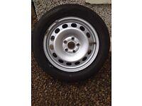 """16"""" steel wheels VW / Skoda / seat"""