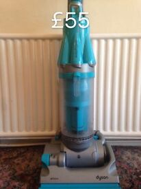 DYSON DC07 FULLY SERVICED MINT CONDITION FREE SET OF PERFUMED FILTERS SKY BLUE