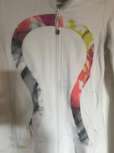 Size 4 Lululemon Zip-Up Sweater with Hood