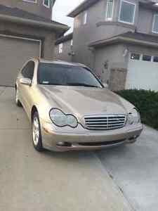 2001 Mercedes benz c320 v6 Beast