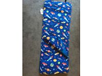 Sleep nap mat with blanket and pillow