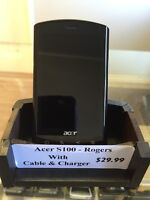 Acer S100 refurbished phone. Rogers Network
