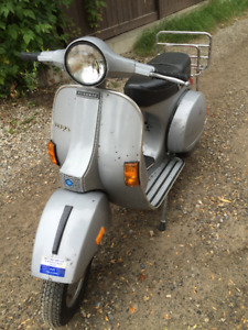 All original 1979 Vespa P200e