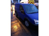 Blue ford transit connect 1.8L