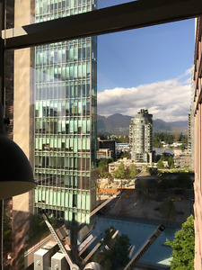 Large Executive 2 bdrm in Coal Harbour - 1280sq ft