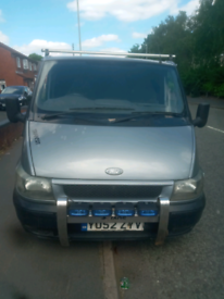 Tranist van spare or repairs starts and drives