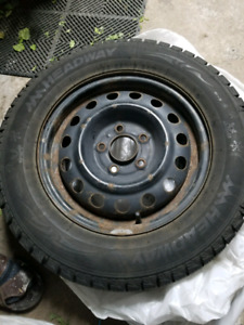 1 winter tires with rims