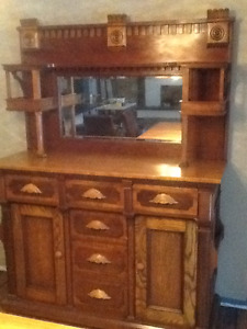 Beautiful Antique Buffet For Sale