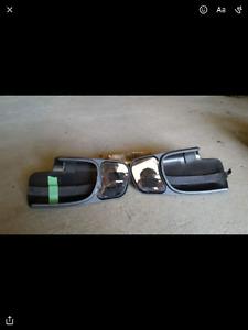 Rétroviseurs pour remorque GM (camion) de 2001 à 2006